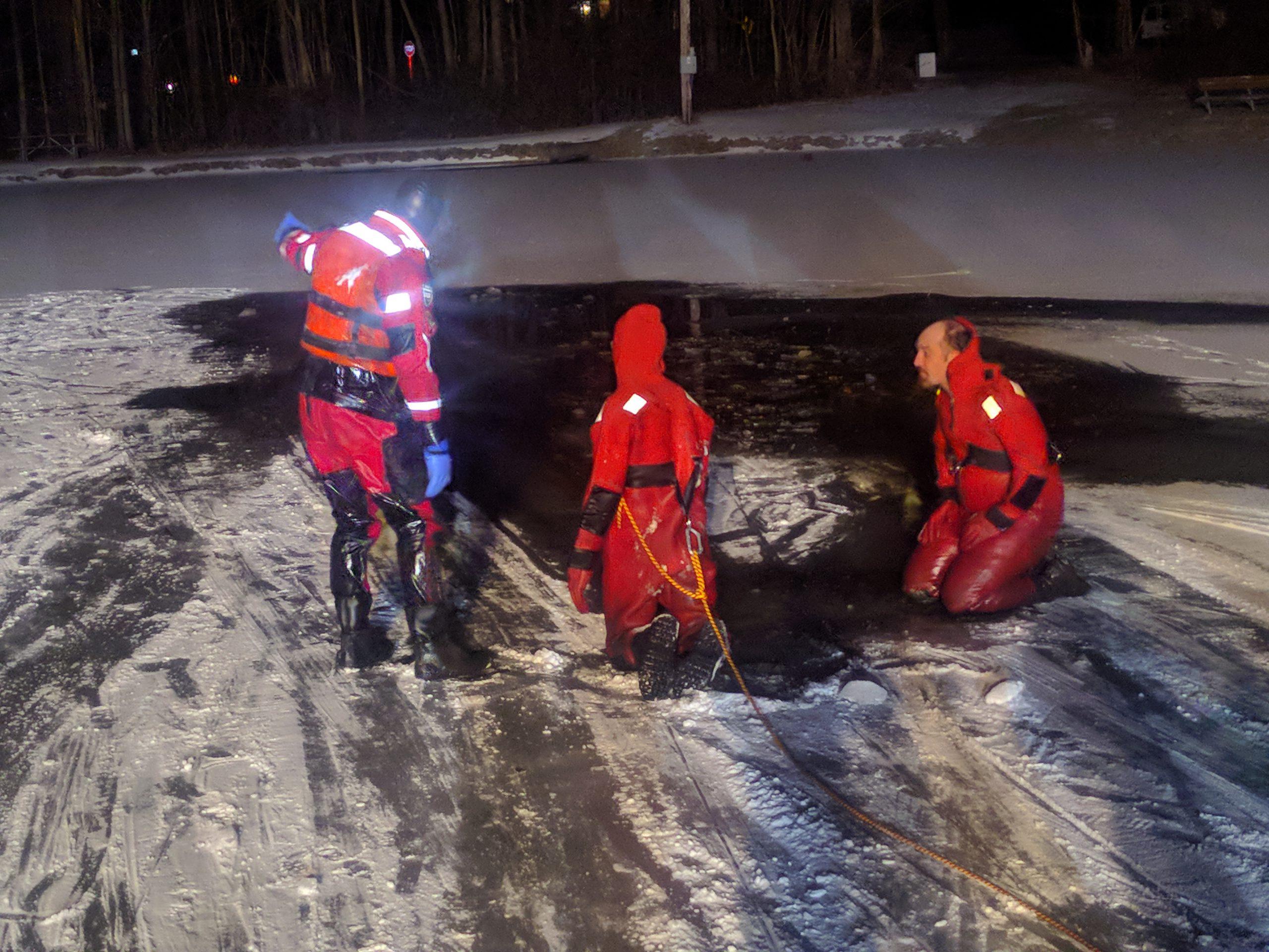 Drill Night: Ice Rescue