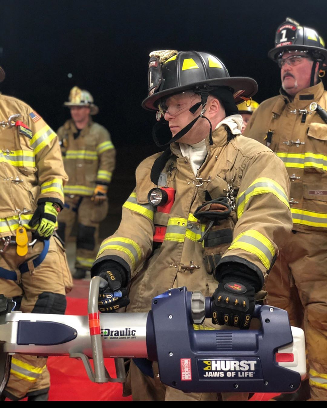 Drill Night: Vehicle Extrication