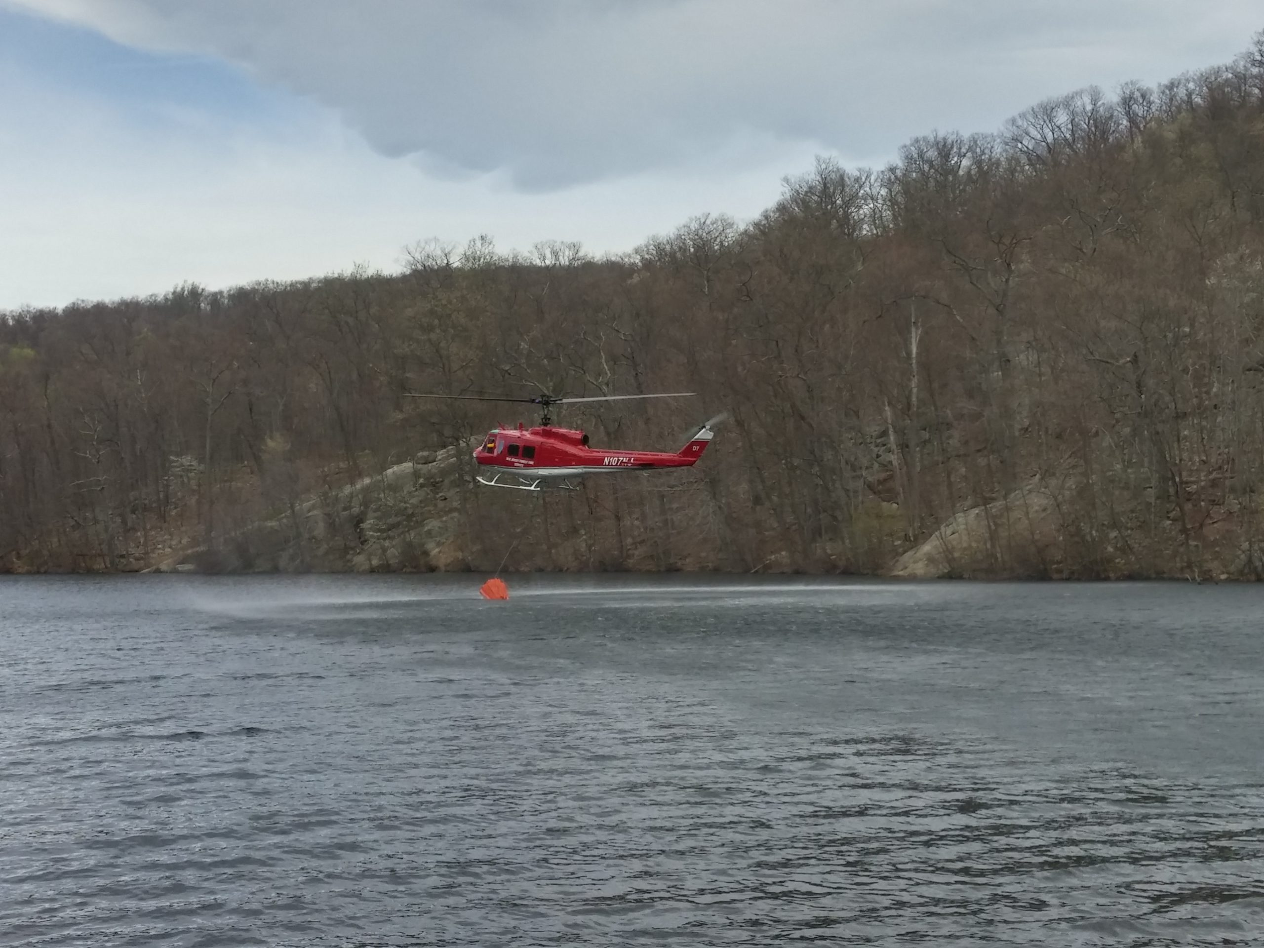 Throwback Thursday: Helicopter Firefighting