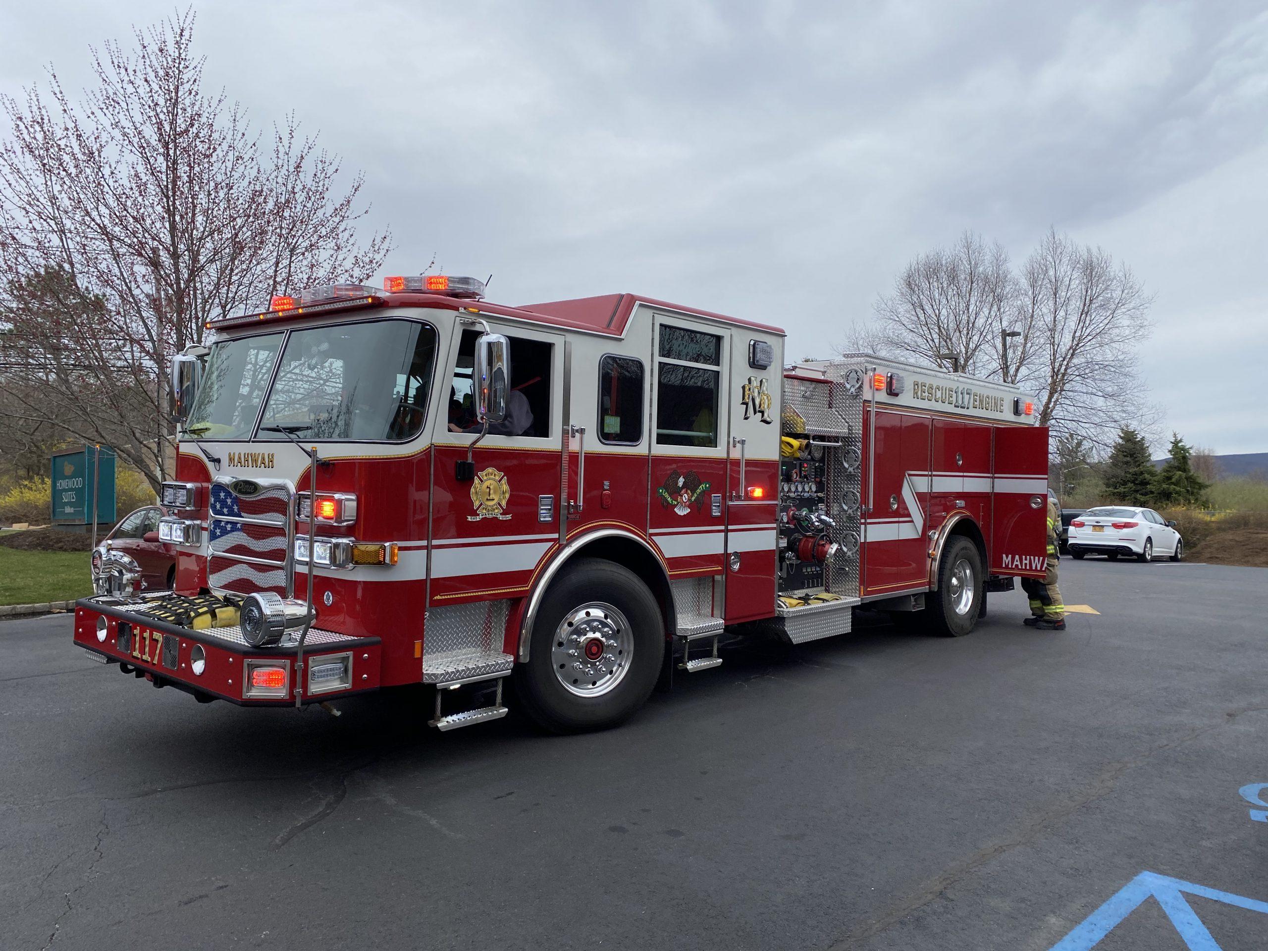 Corporate Drive Fire Alarm