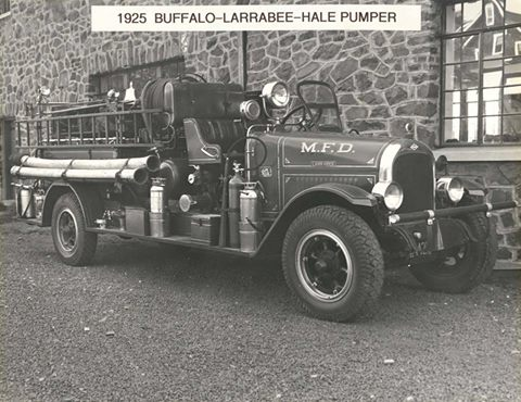 Throwback Thursday: Our First Fire Truck